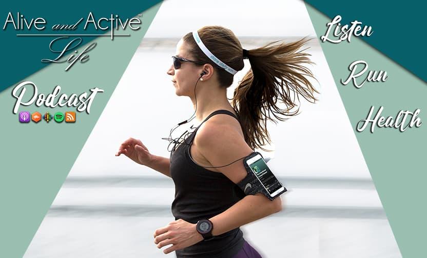 Listen while jogging